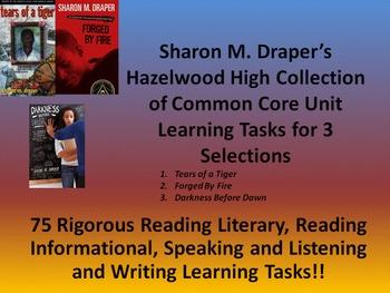Sharon Draper's Hazelwood High Series - 75 Rigorous Learni