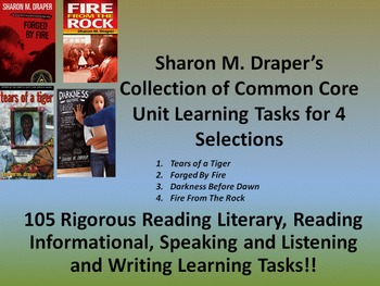 Sharon Draper's Hazelwood High and Fire From the Rock - 10