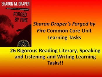 """Sharon M. Draper's """"Forged By Fire"""" - 26 Common Core Learn"""