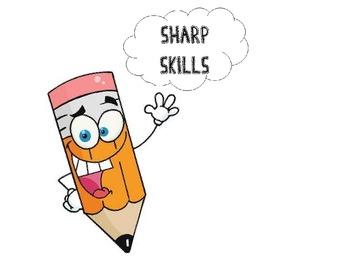 "Sharp Skills-long and short ""a"" file folder game"