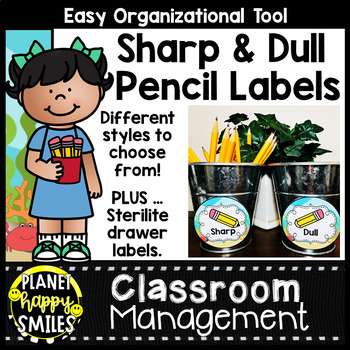 "Sharpened & Unsharpened Pencils or Sharp/Broken ~ ""Under t"