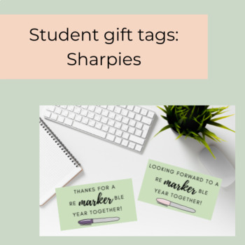 Sharpie Gift Tags