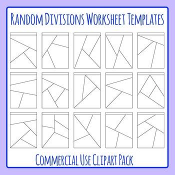 Shattered Worksheets or Random Divisions Worksheet Templat
