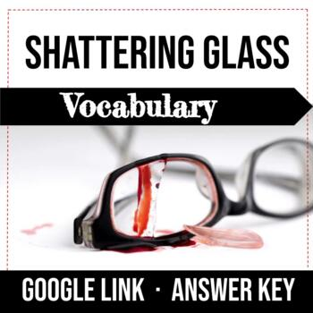 Shattering Glass by Gail Giles, Vocabulary Worksheets, Cha