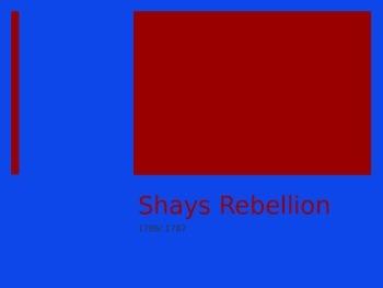 Shays Rebellion Powerpoint