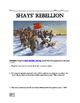 Shays' Rebellion Webquest and Video Clip
