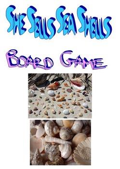She Sells Sea Shells Board Game