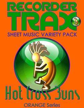 Sheet Music Variety Pack - Hot Cross Buns