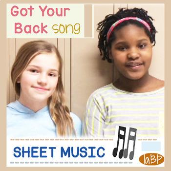 Sheet Music: friendship pop song