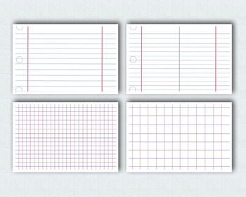 Sheets of Paper Templates