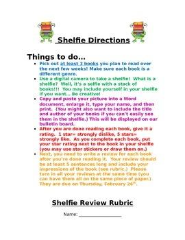 Shelfie Book Report
