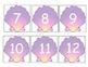 Shell Number Cards/Calendar Cards