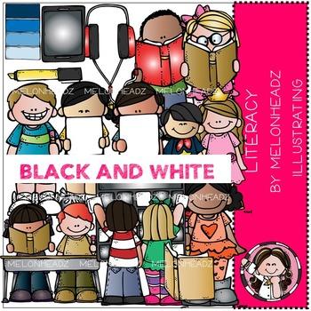 Shelley's Literacy bundle by Melonheadz BLACK AND WHITE