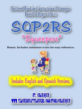 "Sheltered Reading Instruction SQP2RS ""Squeepers"" Cards"