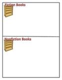 Shelve It!  Fiction vs. Nonfiction Sorting Activity
