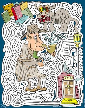 Sherlock Holmes Maze