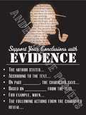 Sherlock Holmes Textual Evidence Poster