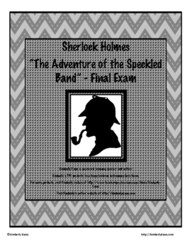 """Sherlock Holmes and """"The Adventure of the Speckled Band"""" F"""