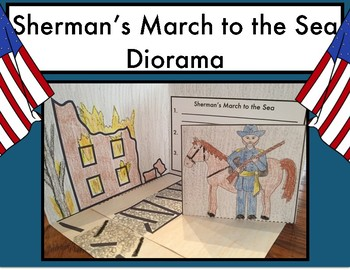 Sherman's March to the Sea Diorama