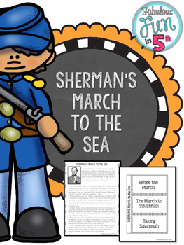 Sherman's March to the Sea: Nonfiction Passage and Foldable