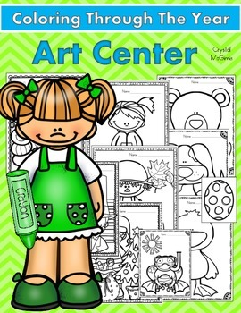 Sometimes They Just Want To Color! (Art Center Coloring Pr