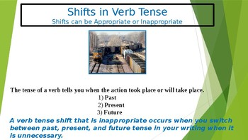 Shifts in Verb Tense (Inappropriate Shifts)