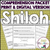 Shiloh Comprehension Packet