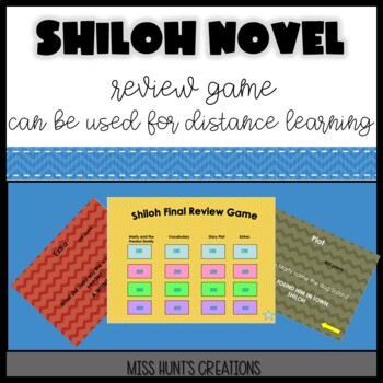 Shiloh Review Game