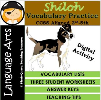 Shiloh Vocabulary Practice
