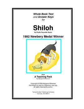 Shiloh: Whole Book Test