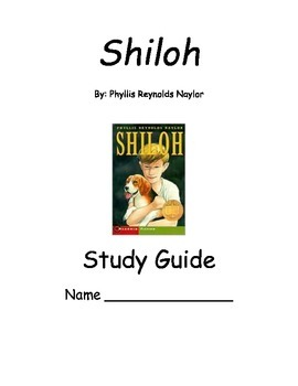 Shiloh by Phyllis Reynolds Naylor Study Guide