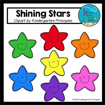 """Shining Stars"" (*FREE* Star Clipart)"