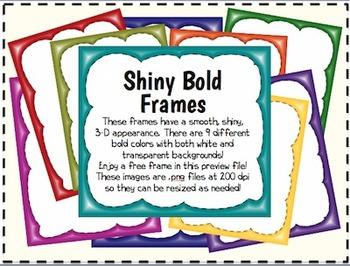 Shiny Bold Borders/Frames