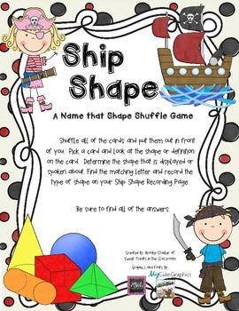 Ship Shape Shuffle Game