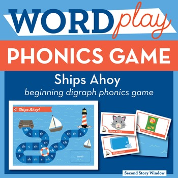 Ships Ahoy! Beginning Digraphs Phonics Game