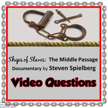 Ships of Slaves: The Middle Passage (by Steven Spielberg)