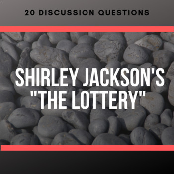 shirley jacksons the lottery a compare essay The lottery by shirley jackson essay - allow us to take care of your master thesis proofreading and editing services from top professionals enjoy the advantages of qualified writing help available here.