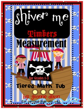 Shiver Me Timbers Measurement Tiered Math Tub