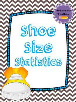 Shoe Size Statistics: Mean, Median, Mode, Range & Bar Graph