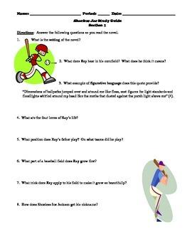 Shoeless Joe Study Guide Packet