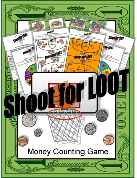 Shoot for Loot Money Counting Game