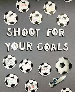 Shoot for Your Goals Wall Display