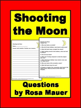 Shooting the Moon Novel Study