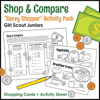 "Shop & Compare - Girl Scout Juniors - ""Savvy Shopper"" Acti"