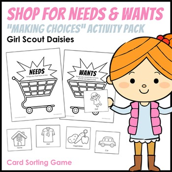 """Shop for Needs & Wants - Girl Scout Daisies - """"Making Choi"""