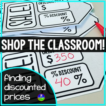 Shop the Classroom! {sale tags}