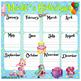 Shopkins Month's Birthdays (Bilingual)17x17