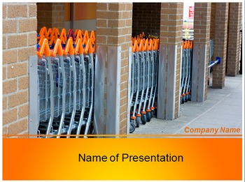 Shopping Store PPT Template