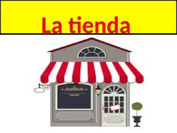 Shopping Vocabulary Realidades 1 Chapter 7B