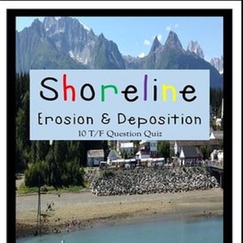 Shoreline Erosion & Deposition - NO WEATHERING Quiz SPED/A